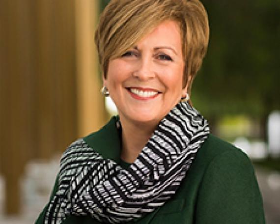 Deborah Rutter, President of The John F. Kennedy Center of the Performing Arts