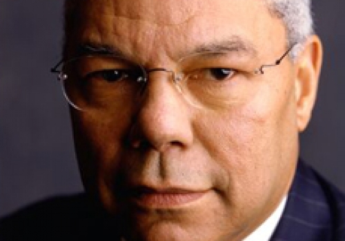 General Colin L. Powell, the former U.S. Secretary of State